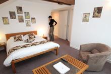 Chambre Confort - Château Orfeuillette - Chambres Orangerie en Lozère